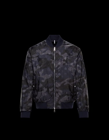 BROUDIG Black Category Bomber Jacket Man