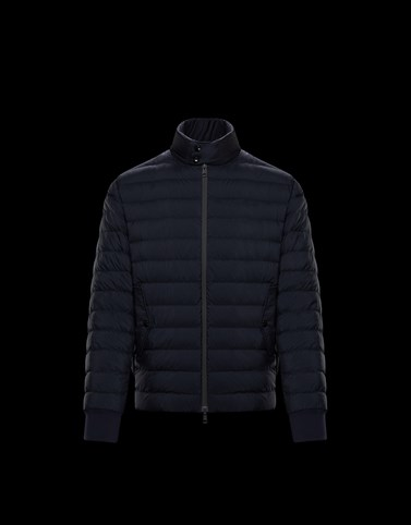 BALAZUC Dark blue Category Short outerwear Man