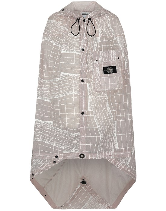STONE ISLAND 96099 REFLECTIVE GRID ON LAMY-TC  Cloak Man Pastel pink