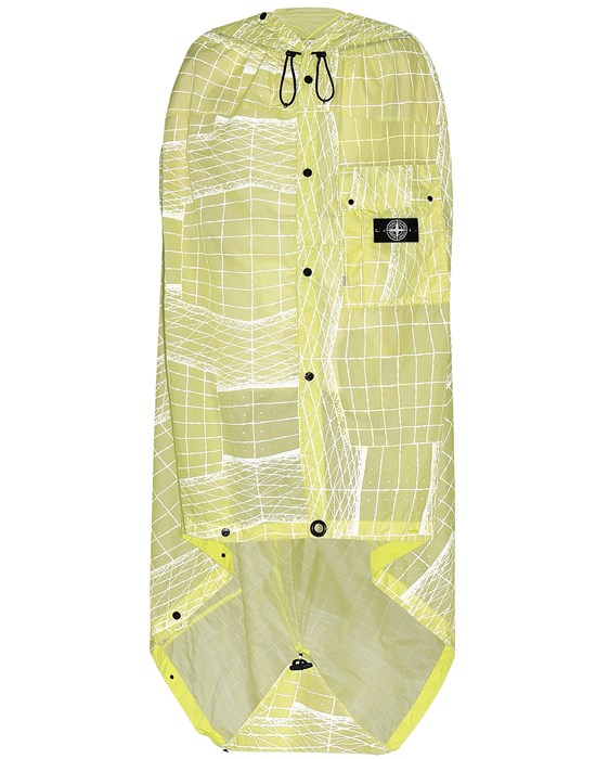 STONE ISLAND 96099 REFLECTIVE GRID ON LAMY-TC  Cloak Man Pistachio Green