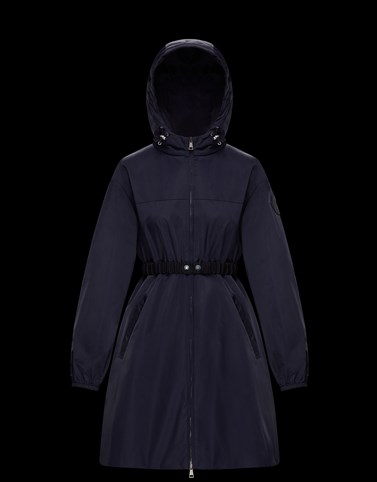 ALFIRK Dark blue Category Raincoats Woman