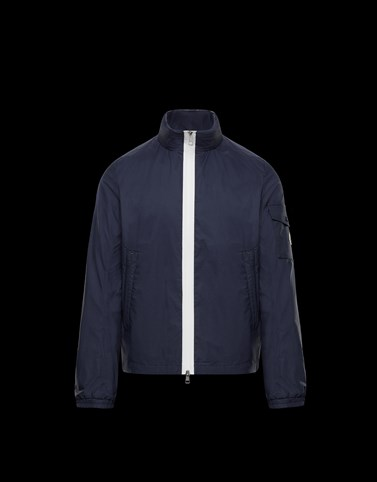 BRIZE Dark blue Category Outerwear Man