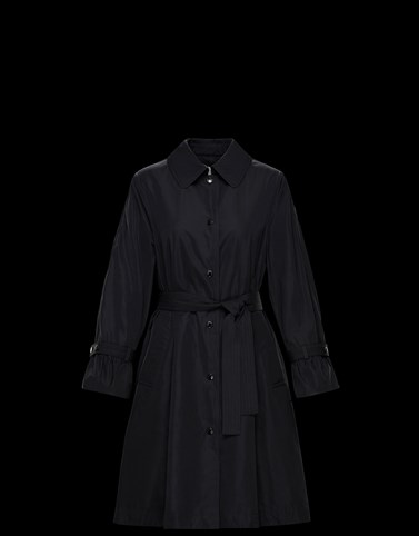 NAVIGATORIA Black Category Raincoats Woman