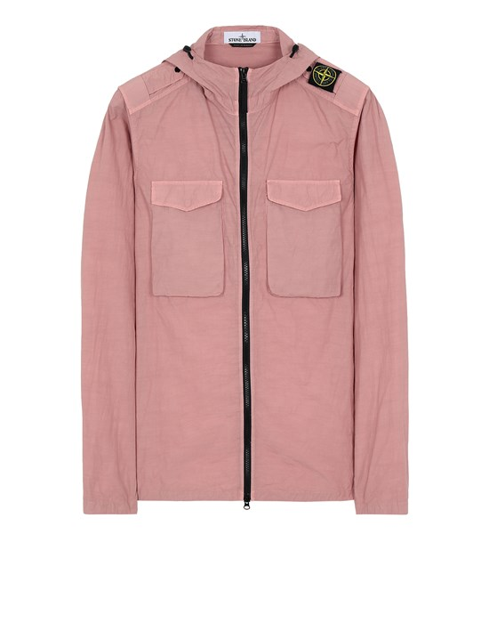 STONE ISLAND 11602 NASLAN LIGHT  Over Shirt Man Pink Quartz
