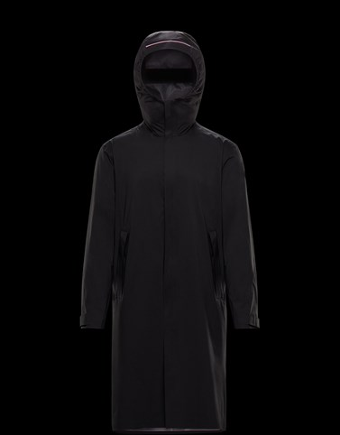 GAVRAS Black Category Long outerwear Man
