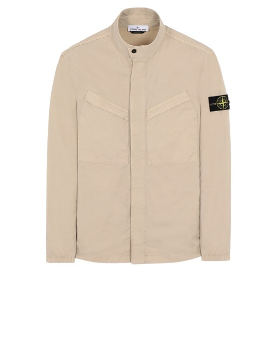 STONE ISLAND 10119 Over Shirt Man Sand