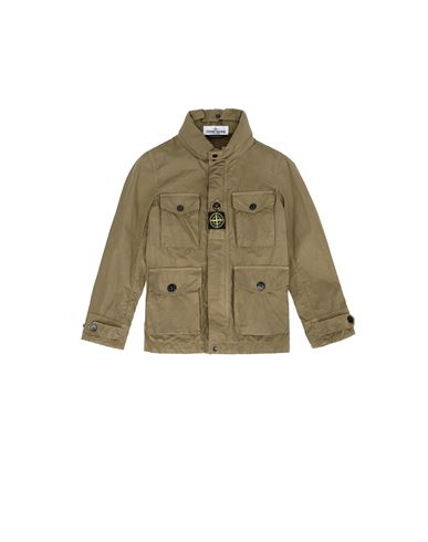 STONE ISLAND KIDS 40430 Jacket Man Olive Green USD 446