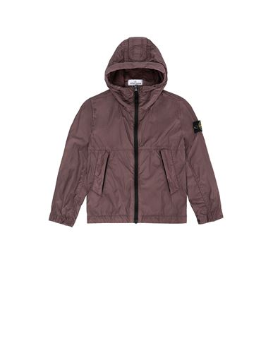 STONE ISLAND KIDS 40233 CRINKLE REPS NYLON Jacket Man Dark Burgundy USD 297