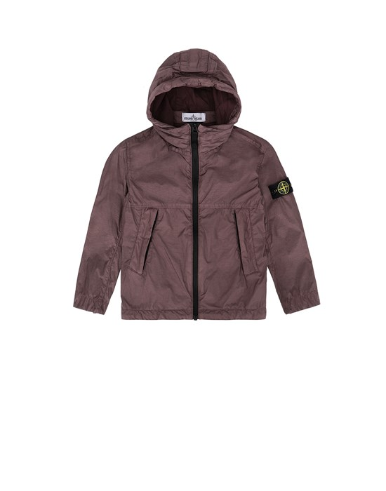 STONE ISLAND JUNIOR 40233 CRINKLE REPS NYLON Jacket Man Dark Burgundy
