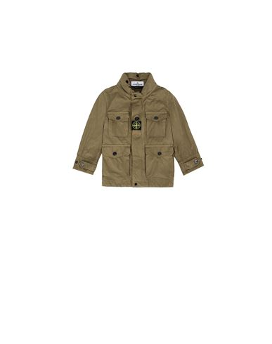 STONE ISLAND BABY 40430 Jacket Man Olive Green USD 346