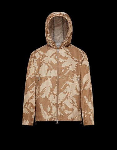CHARDON Beige Windbreakers Man