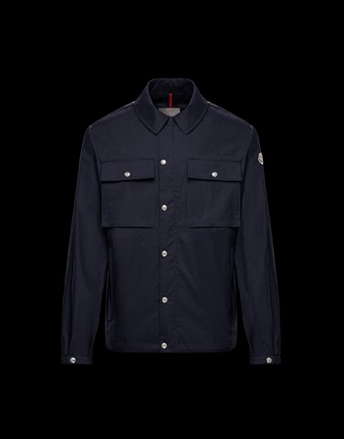 ASTRUC Dark blue Category Overcoats Man