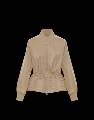BALDAH Beige Jackets Woman