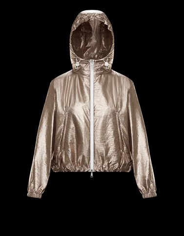 ESCHAMALI Bronze Windbreakers Woman