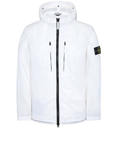STONE ISLAND 43034 LUCIDO-TC_PACKABLE  PACKABLE JACKET Man White USD 863