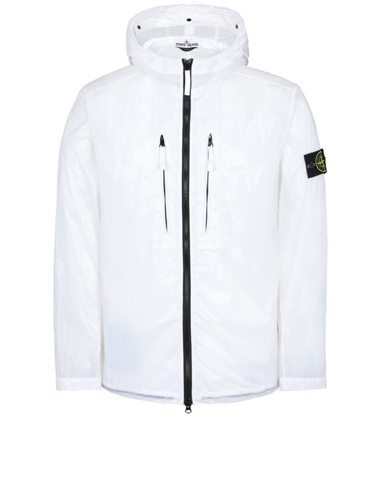 STONE ISLAND 43034 LUCIDO-TC_PACKABLE  PACKABLE JACKET Man White