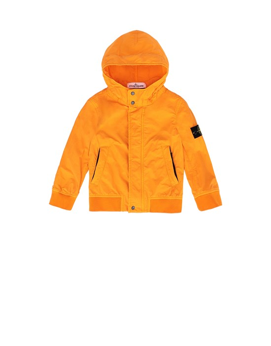 STONE ISLAND JUNIOR 40530 Jacket Man Orange