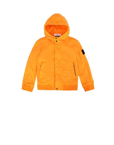 STONE ISLAND KIDS 40530 Jacket Man Orange USD 320
