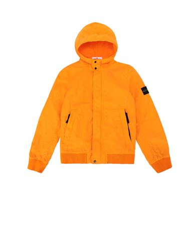 STONE ISLAND JUNIOR 40530 Jacket Man Orange EUR 349