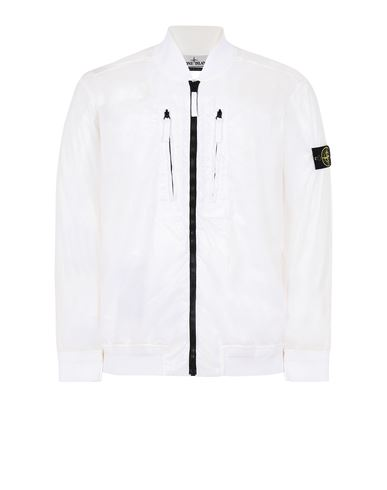 STONE ISLAND 43134 LUCIDO-TC_PACKABLE  可折叠夹克 男士 白色 EUR 663