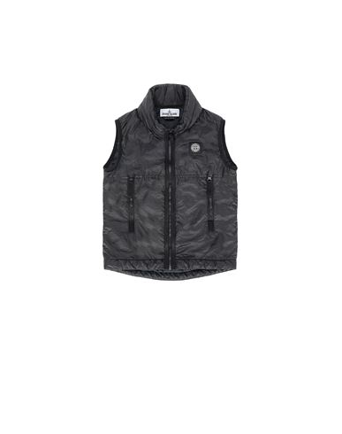 STONE ISLAND KIDS G0131 Vest Man Black USD 364