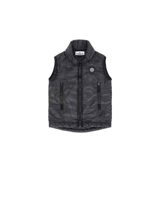 STONE ISLAND JUNIOR G0131 Vest Man Black