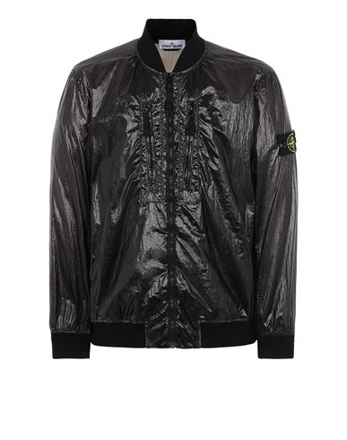 STONE ISLAND 43134 LUCIDO-TC_PACKABLE  PACKABLE JACKET Man Black USD 705