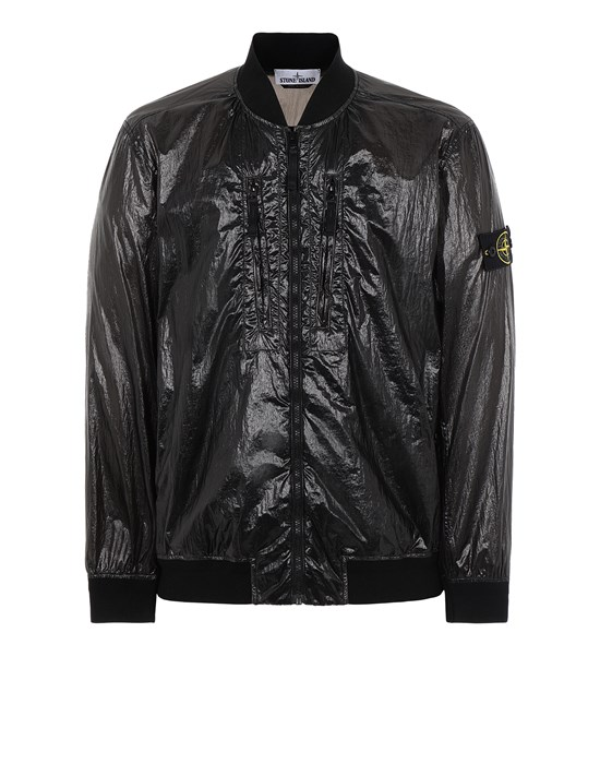 STONE ISLAND 43134 LUCIDO-TC_PACKABLE  PACKABLE JACKET Man Black