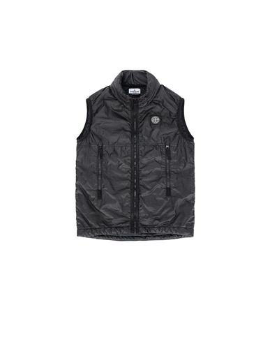 STONE ISLAND JUNIOR G0131 Vest Man Black USD 358