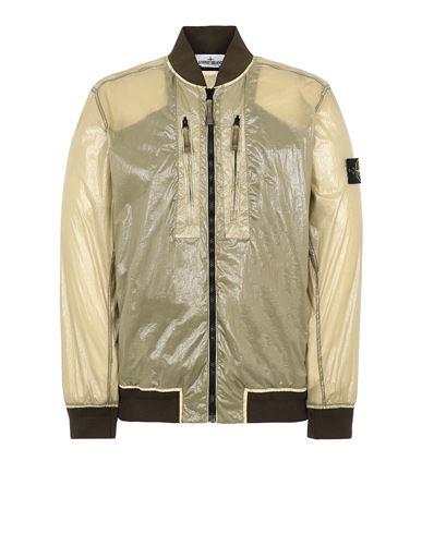 STONE ISLAND 43134 LUCIDO-TC_PACKABLE  PACKABLE JACKET Man Olive Green USD 705