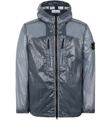 STONE ISLAND 43034 LUCIDO-TC_PACKABLE  PACKABLE JACKET Man Avio Blue EUR 497