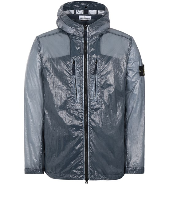 STONE ISLAND 43034 LUCIDO-TC_PACKABLE  PACKABLE JACKET Man Avio Blue