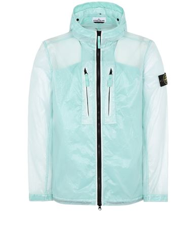 STONE ISLAND 43034 LUCIDO-TC_PACKABLE  PACKABLE JACKET Man Aqua EUR 497