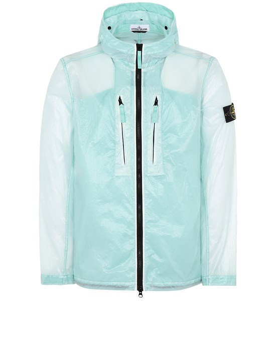 STONE ISLAND 43034 LUCIDO-TC_PACKABLE  PACKABLE JACKET Man Aqua