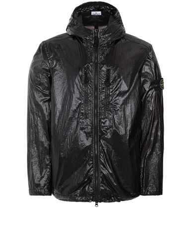 STONE ISLAND 43034 LUCIDO-TC_PACKABLE  PACKABLE JACKET Man Black USD 863