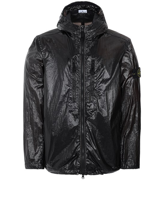 STONE ISLAND 43034 LUCIDO-TC_PACKABLE  PACKABLE JACKET Man Black