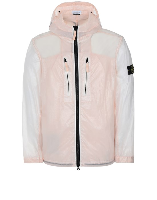 STONE ISLAND 43034 LUCIDO-TC_PACKABLE  CHAQUETA PLEGABLE Hombre Rosa antiguo