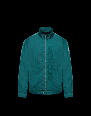 CHOISY Emerald green Jackets & Bomber Jacket Man
