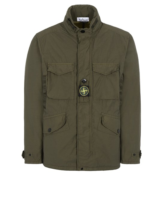 Jacket Man 41732 NASLAN LIGHT WATRO Front STONE ISLAND