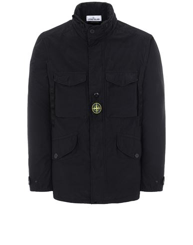 STONE ISLAND 41732 NASLAN LIGHT WATRO  Jacket Man Black EUR 759