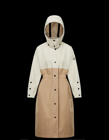 AKHAMALONG Beige Category Raincoats Woman