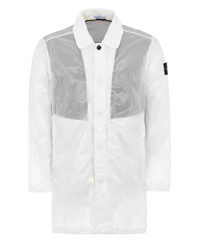 STONE ISLAND 70534 LUCIDO-TC_PACKABLE Mid-length jacket Man White USD 918