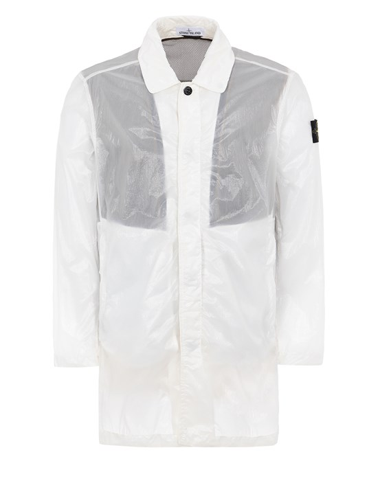 STONE ISLAND 70534 LUCIDO-TC_PACKABLE Mid-length jacket Man White