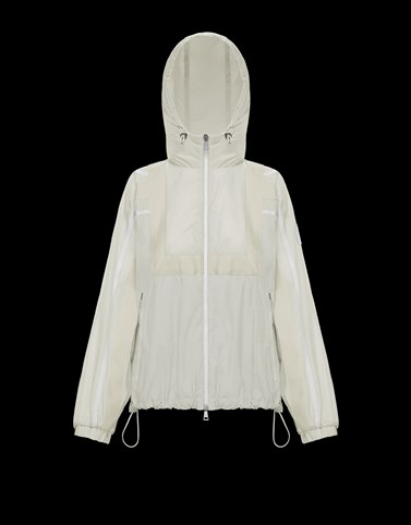 ALDHIBA White Category Windbreakers Woman