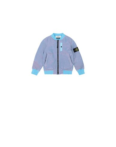 STONE ISLAND BABY 40737 NYLON METAL COLOURED WEFT/TYVEK® Giubbotto Uomo Turchese EUR 325