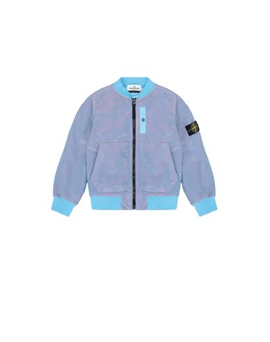 STONE ISLAND KIDS 40737 NYLON METAL COLOURED WEFT/TYVEK® Jacket Man Turquoise EUR 382