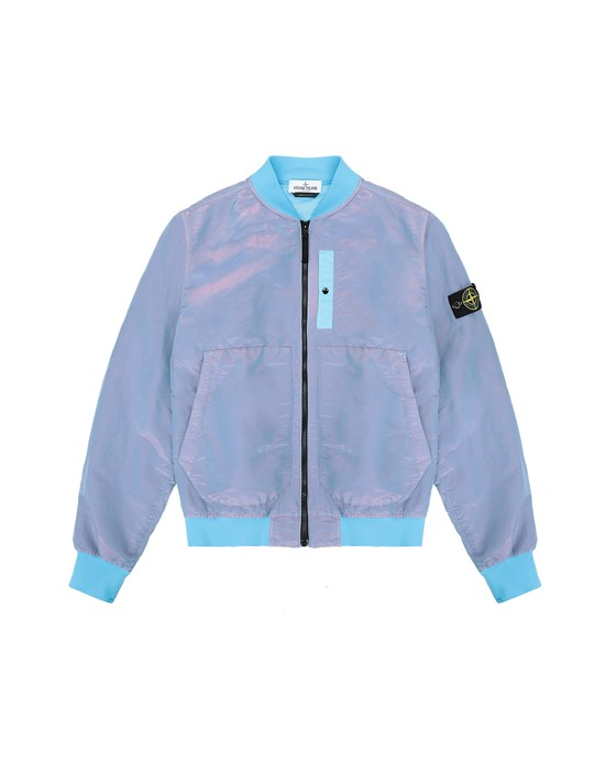 休闲夹克 男士 40737 NYLON METAL COLOURED WEFT/TYVEK® Front STONE ISLAND TEEN