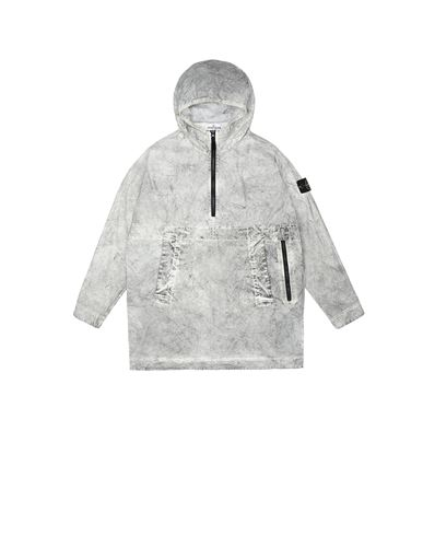 STONE ISLAND JUNIOR 41236 DUST COLOUR TREATMENT_PACKABLE ブルゾン メンズ ベージュ JPY 83238