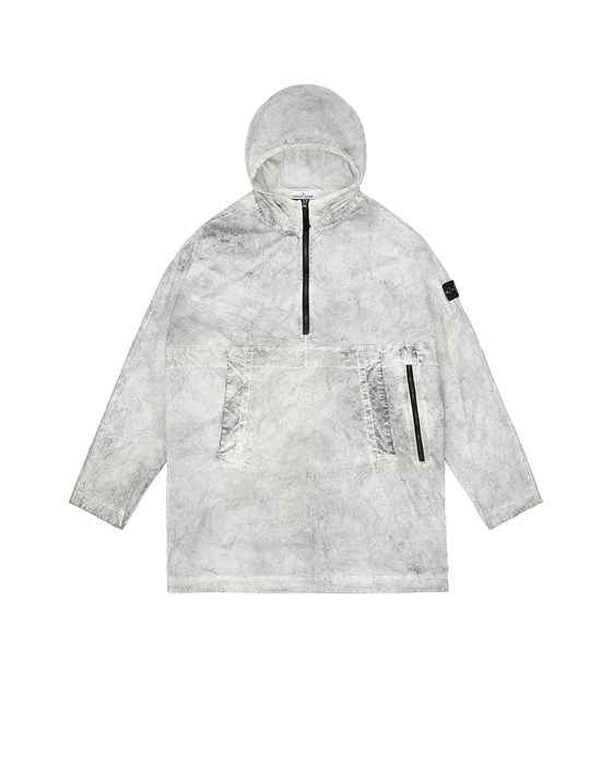 Jacket Man 41236 DUST COLOUR TREATMENT_PACKABLE Front STONE ISLAND TEEN
