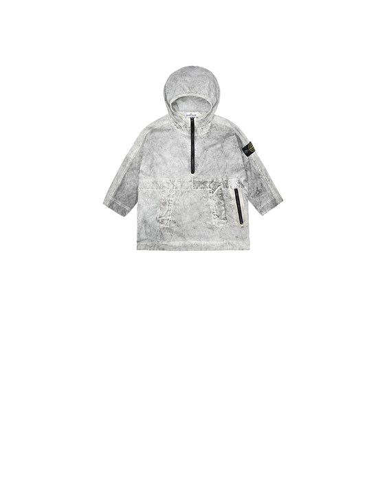 Jacket Man 41236 DUST COLOUR TREATMENT_PACKABLE Front STONE ISLAND BABY